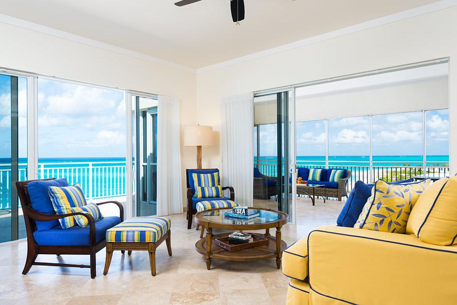 3 Bedroom Ocean Front Suite Front Plus Media Room
