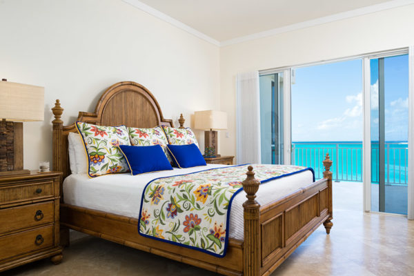 master's bedroom oceanfront view