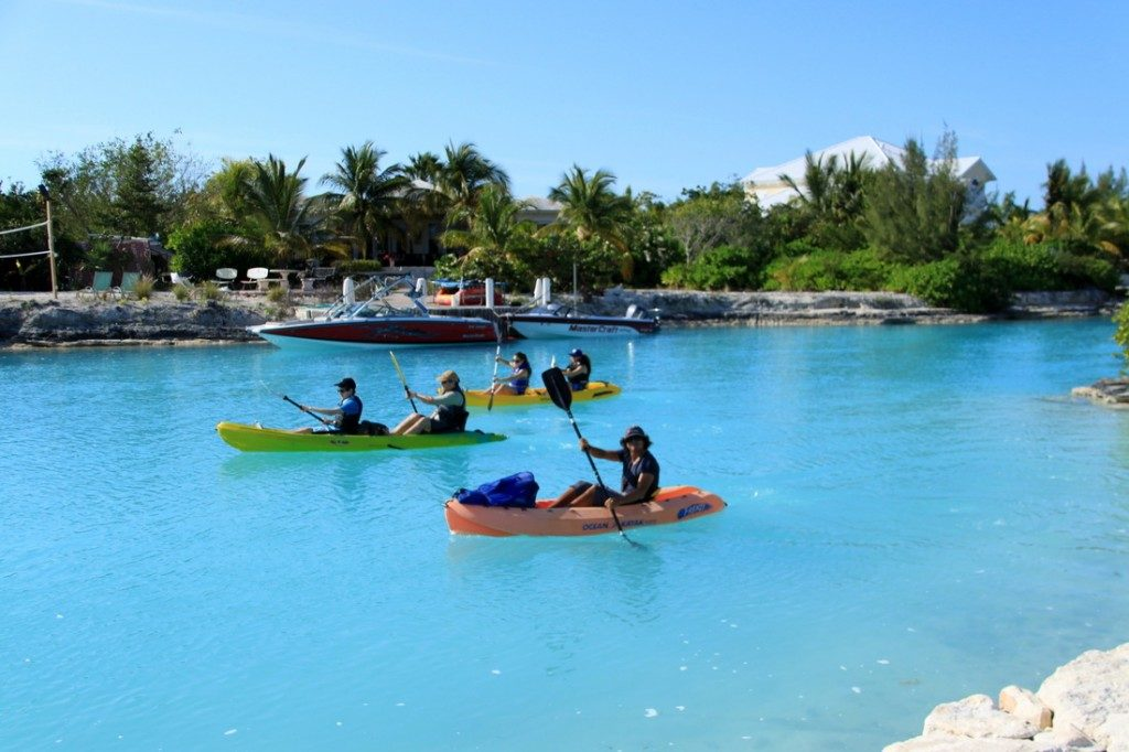 kayak rentals on grace bay beach