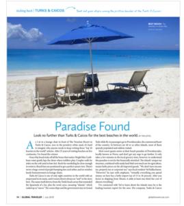 best beach: Venetian on Grace Bay Profiled By Luxury Traveler Magazine