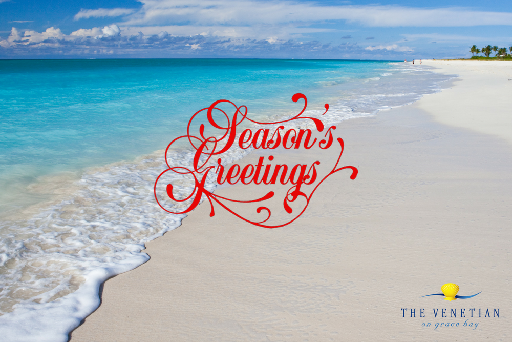 Merry Christmas And Welcome To Winter From The Venetian On Grace Bay Resort