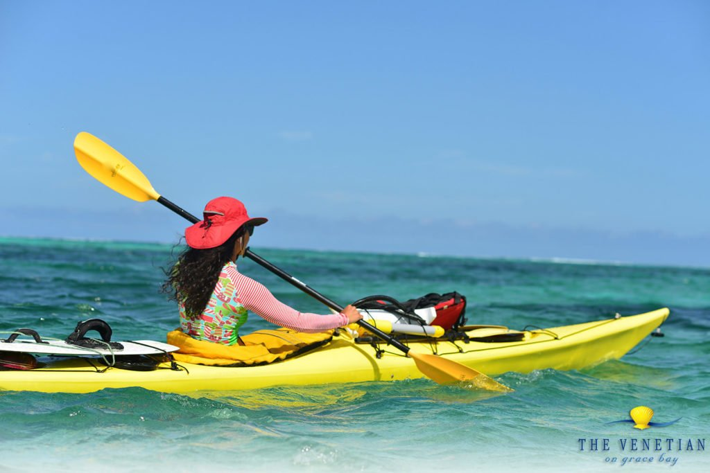 kayak in turks and caicos