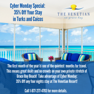 cyber monday turks and caicos