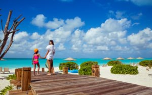 mother and daughter: family holiday