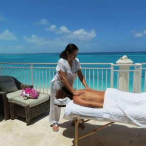 massage outdoor oceanview