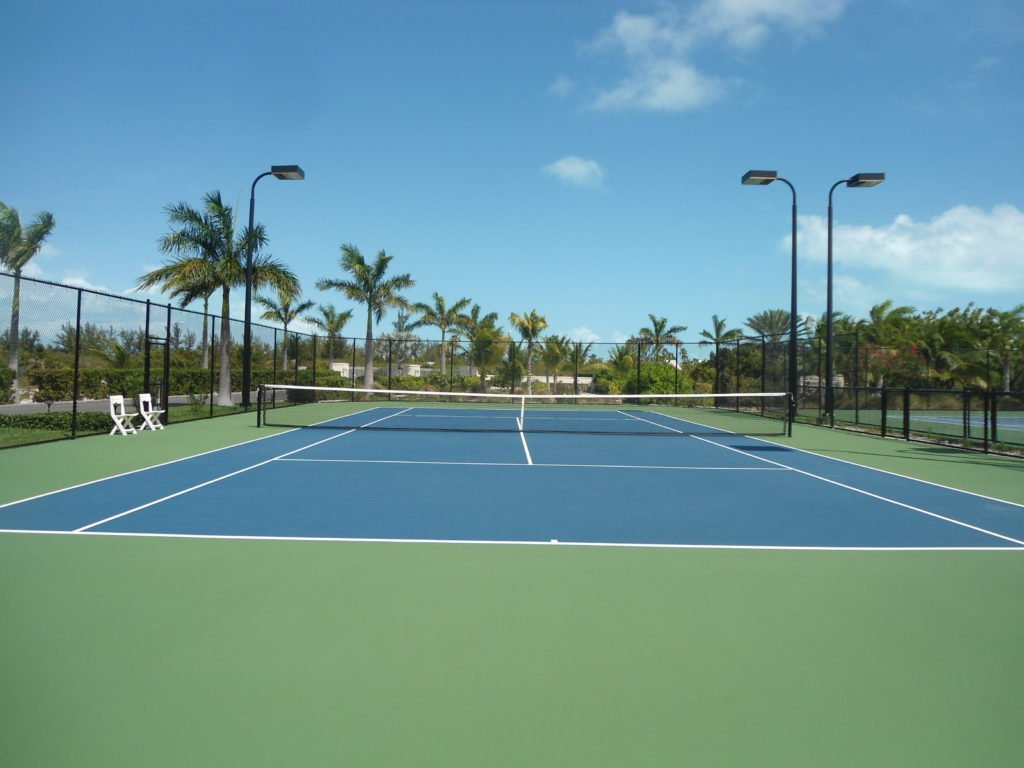 tennis court the venetian on grace bay