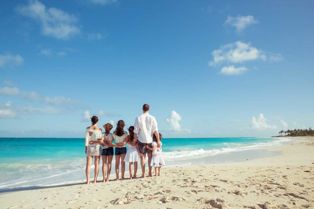 Family holiday: Christmas in Turks and Caicos