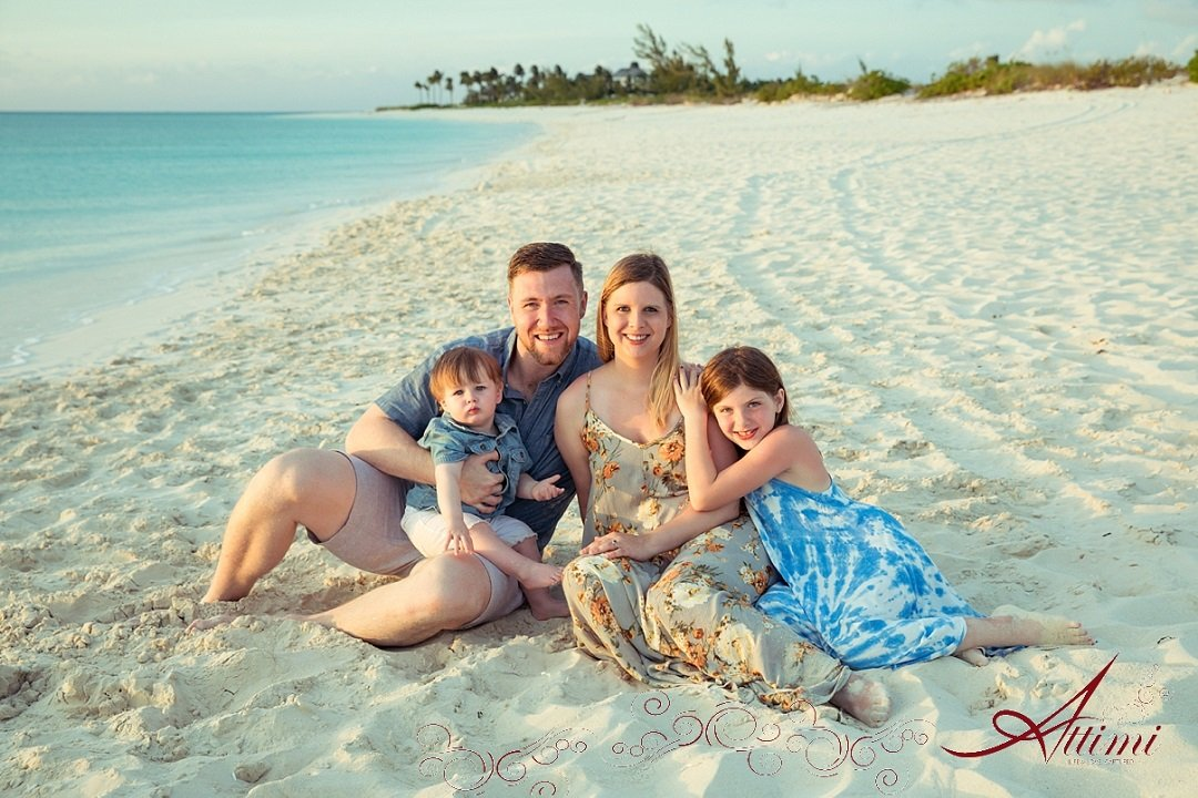 Remember Your Turks And Caicos Family Vacation At The Venetian With Professional Portraits