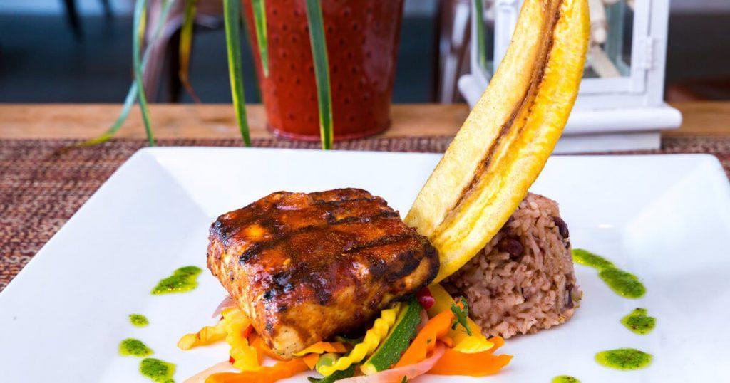 Caribbean Dishes at Kalooki's Restaurant
