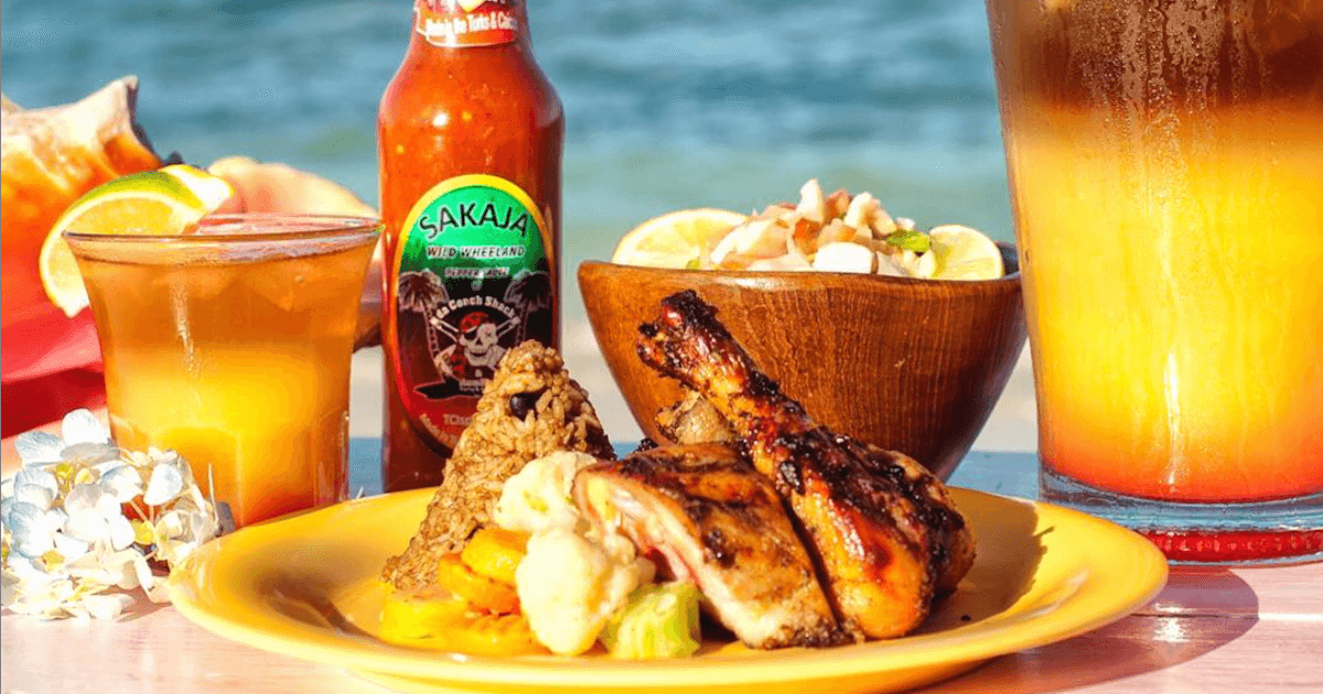 Caribbean Dishes at da Conch Shack