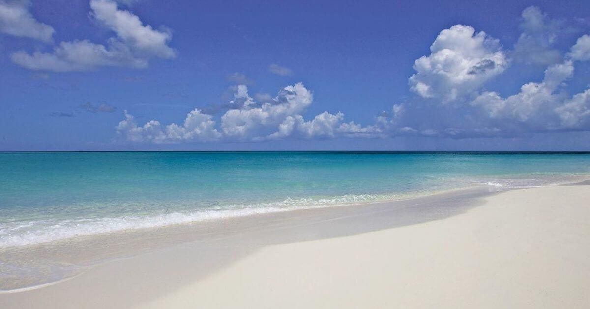 Grace Bay Beach in Providenciales, Turks and Caicos