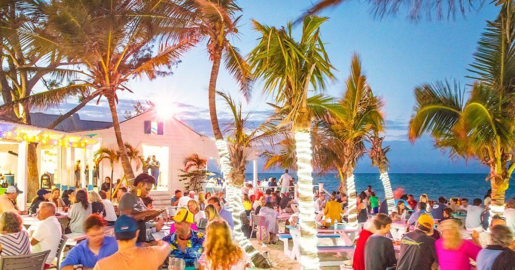 Evening Fun a Da Conch Shack in Turks and Caicos
