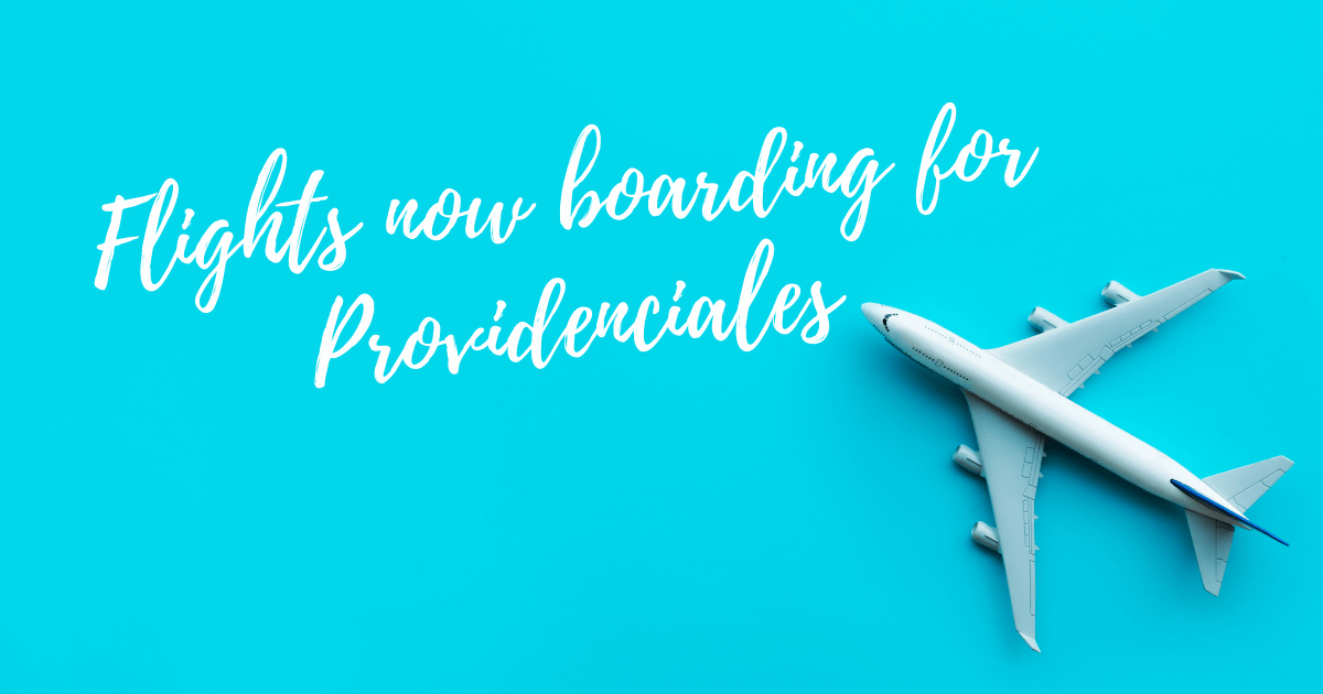 New Flights To Providenciales, Turks And Caicos